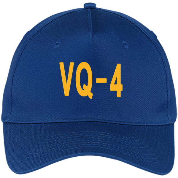 VQ 04 3 Five Panel Twill Cap