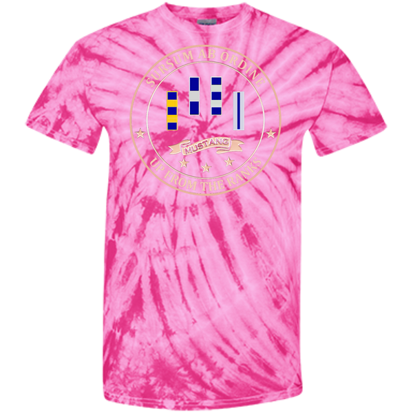 Up From The Ranks 4 Customized 100% Cotton Tie Dye T-Shirt