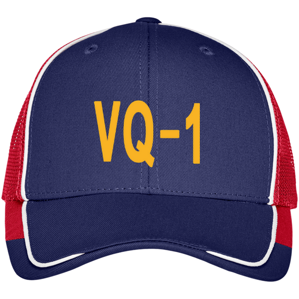 VQ 01 4 Colorblock Mesh Back Cap