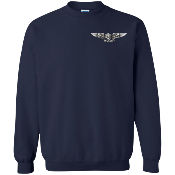 Air Warfare 1a Printed Crewneck Pullover Sweatshirt