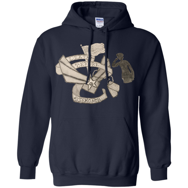Death Before Dishonor Pullover Hoodie