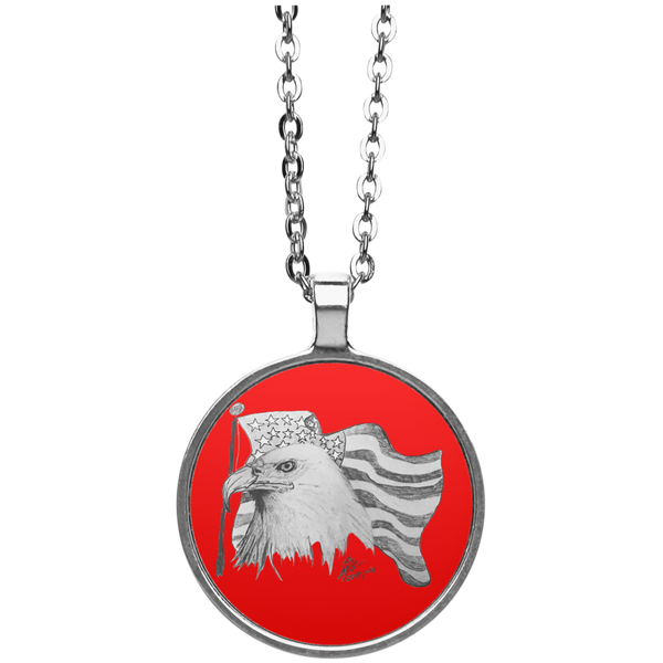 Eagle 101 Circle Necklace