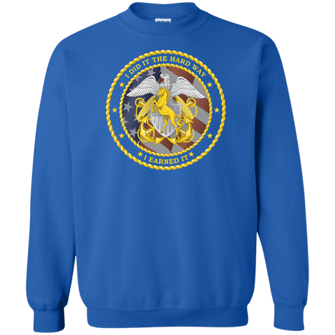 Earned It 2 Crewneck Pullover Sweatshirt