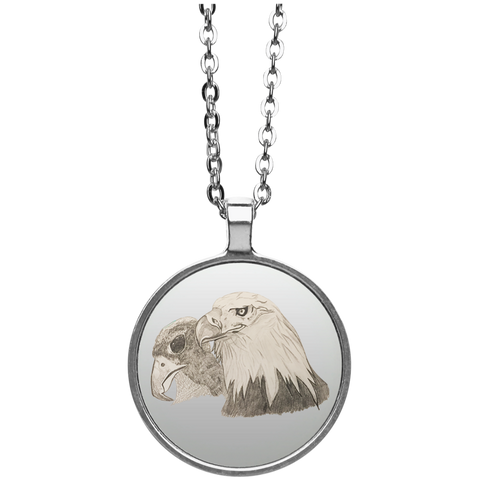 Eagle 102 Circle Necklace