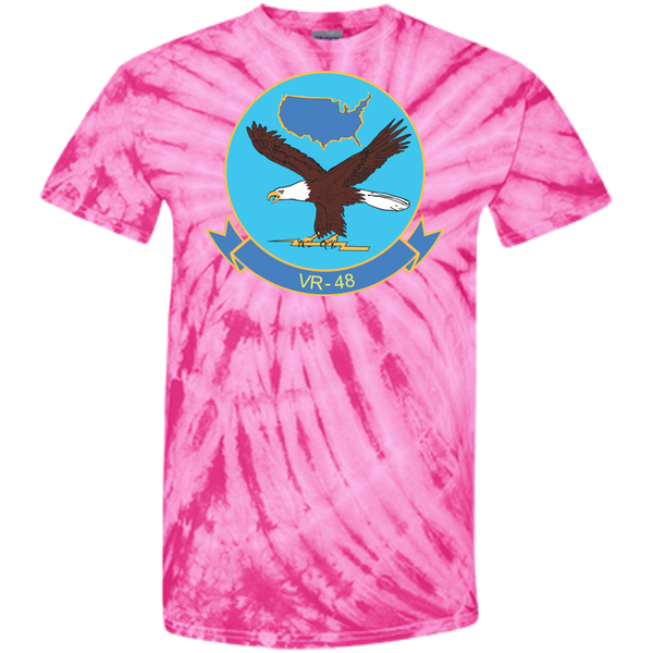 VR 48 2 Customized 100% Cotton Tie Dye T-Shirt