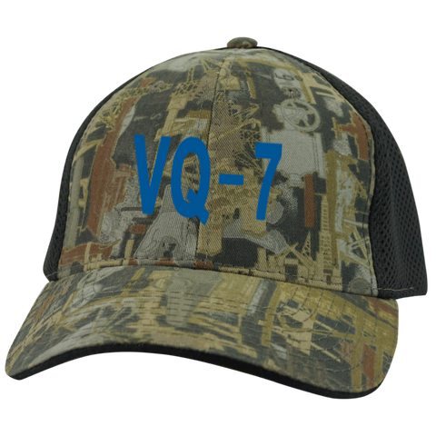 VQ 07 3 Camo Cap with Mesh
