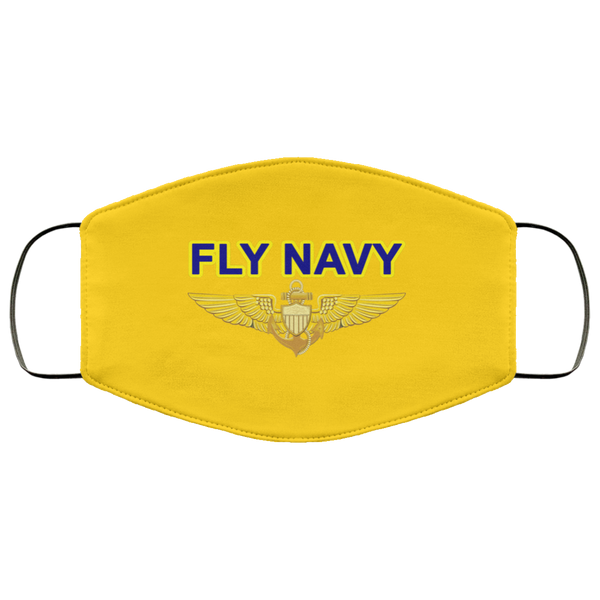 Fly Navy Aviator PPE Face Mask