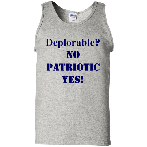Deplorable Cotton Tank Top