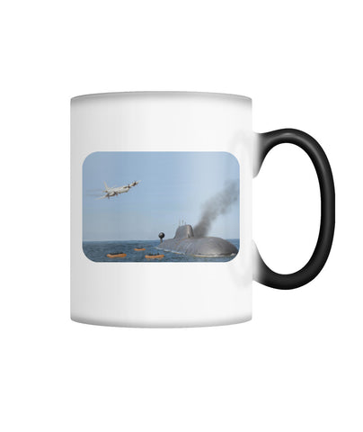 Abandon Ship Color Changing Mug