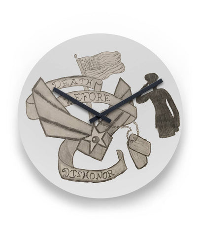Death Before Dishonor Clock