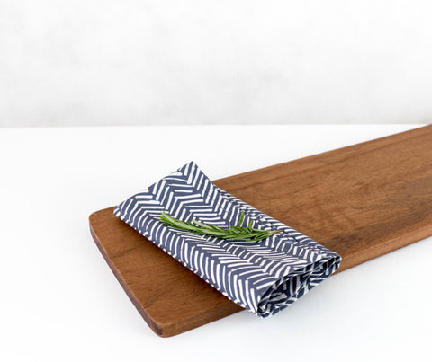 Tracks  | Eco-Friendly Napkins | Wolf & Irving