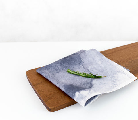 Aurora - Storm Grey | Eco-Friendly Napkins | Wolf & Irving