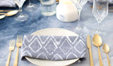 Aurora - Navy | Eco-Friendly Table Linens | Wolf & Irving