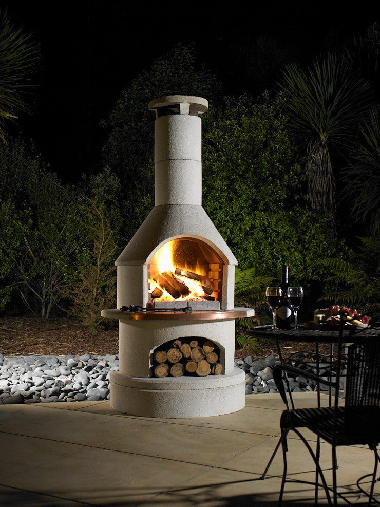 Advantages of the buschbeck bbq outdoor fireplace for Fireplace and bbq