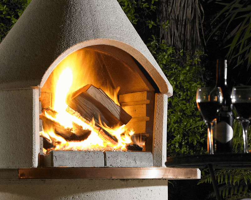 The Ultimate All In One... Outdoor Fire