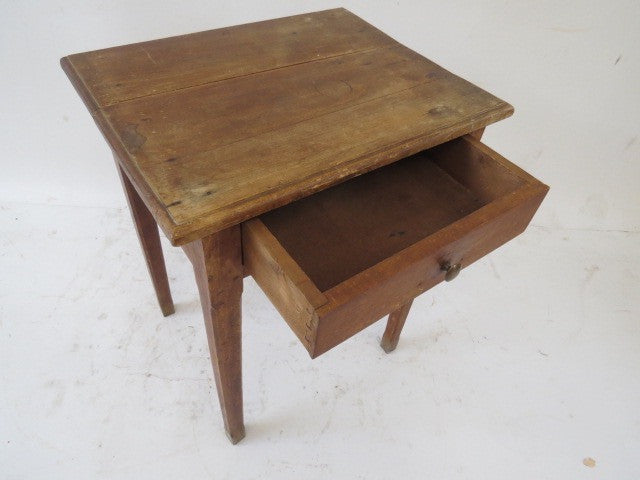 Small table in beech