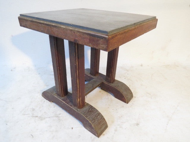 MARBLE TOP COFFE TABLE