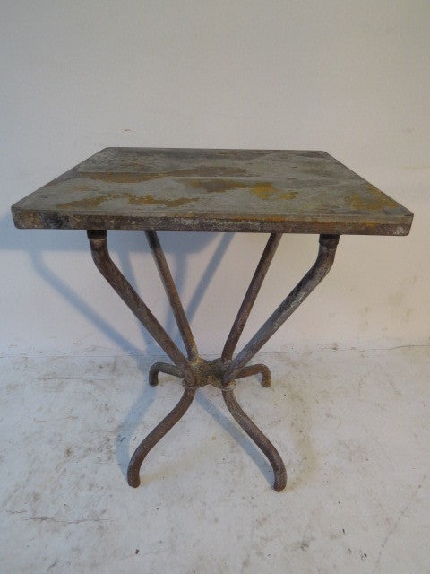 INDUSTRIAL TOLIX BISTRO TABLE