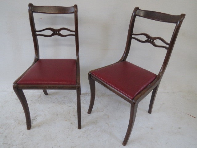 VINTAGE OFFICE CHAIR SET