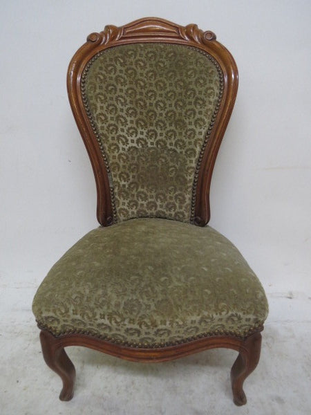 NAPOLEON III FABRIC CHAIR