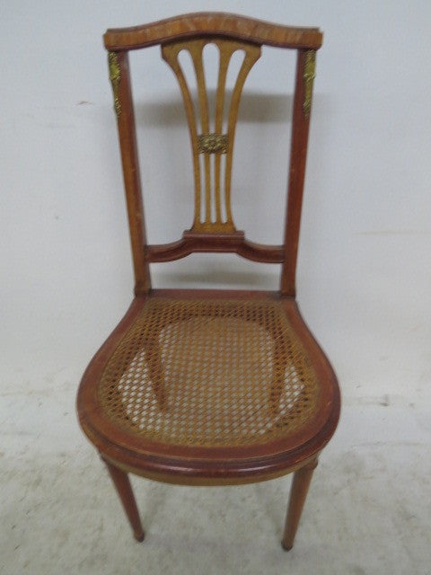 French Cane Chair 1920 cane chair – the tiny french flea