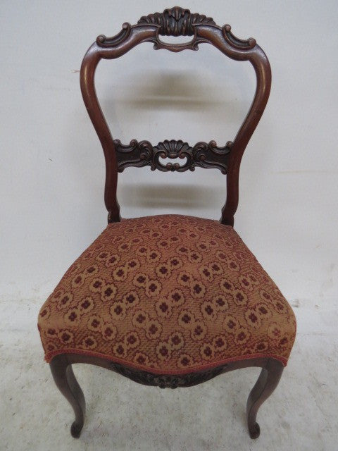NAPOLEON III FABRIC CHAIRS