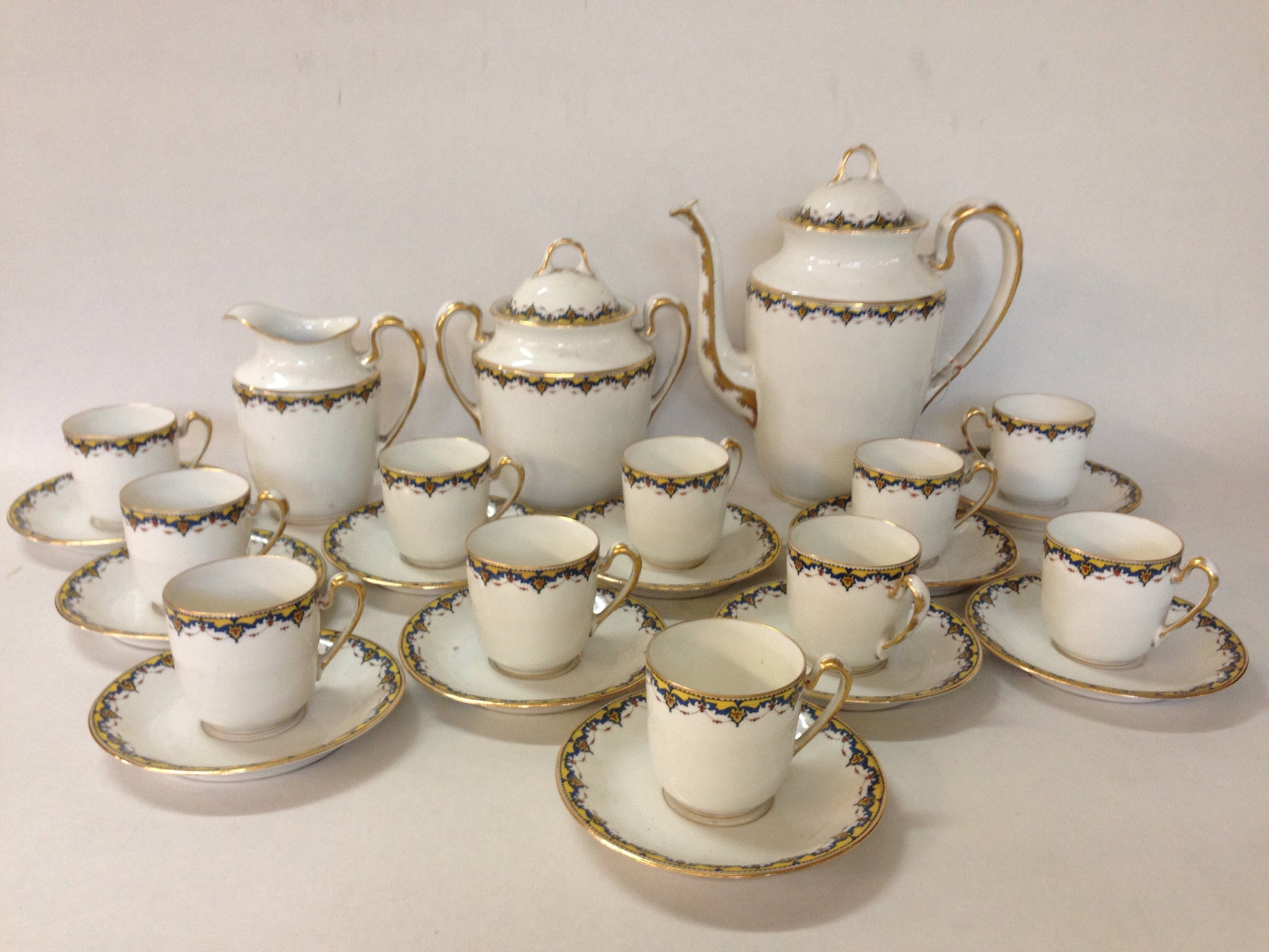 1900's Limoges Tea Set