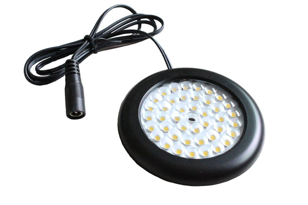 Luxe LED Puck Light | Black