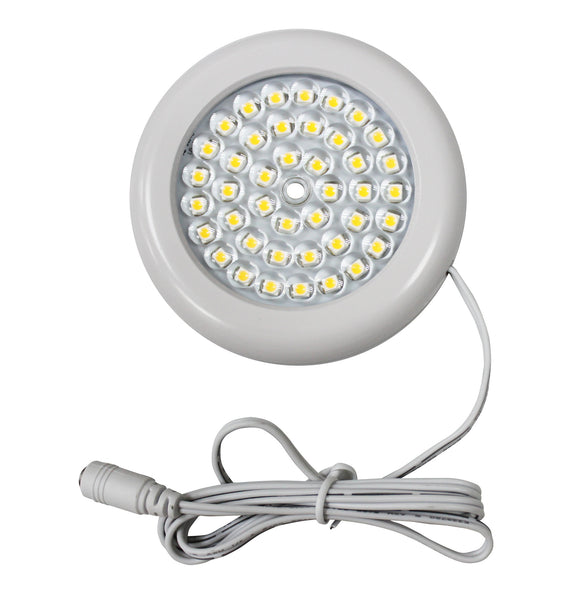 Luxe LED Puck Light | White