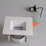 Luxe Arcus LED Downlight | 4 in | 9W | Square