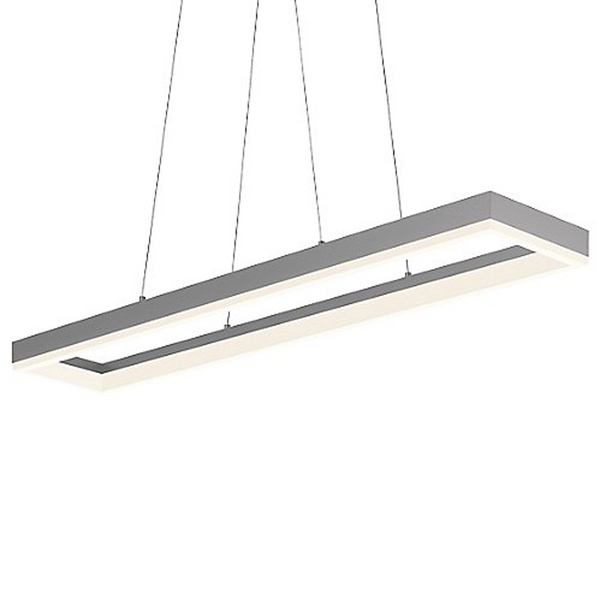 Luxe LED Rectangular Shaped Linear Light | 120W | Width:  4ft | Height: 51mm | Length: 8ft
