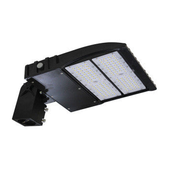 150W LED Shoebox Light | Photocell Included