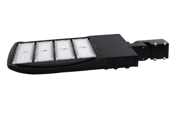 300W LED Shoebox Light | Photocell Included