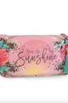 Pink Sunshine Small Tassel Pouch