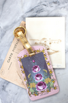 Purple Love Multiples Luggage Tag
