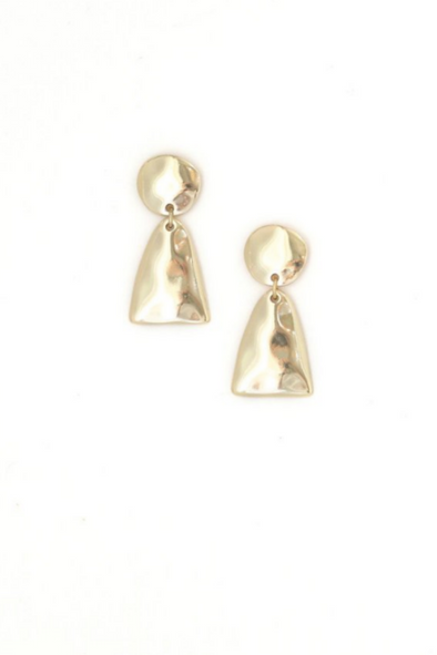 Gold Loa Drop Earrings