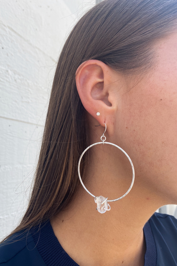 Harlow Bohemian Soul Hoop Earrings