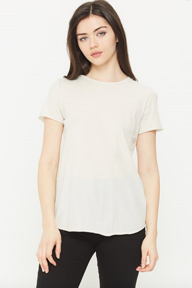 Beverly Short Sleeve Crew Neck T-Shirt