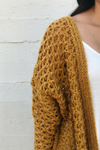 Mustard Heavy Knit Cardigan