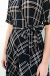 Plaid A-Line Dress