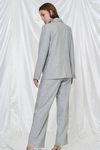 Heathered Pleat Pant