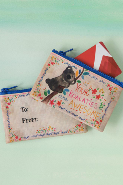 Awesome Koalities Recycled Gift Card Holder