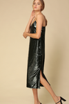 Sale-Kayla Metallic Slip Dress
