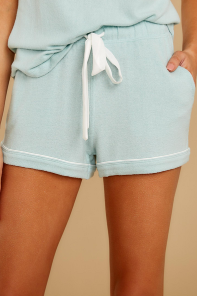 Menswear Pajama Short