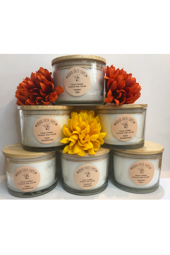 Large Coconut Wax Candles