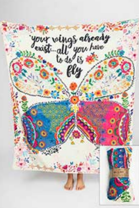 Your Wings Tapestry Blanket