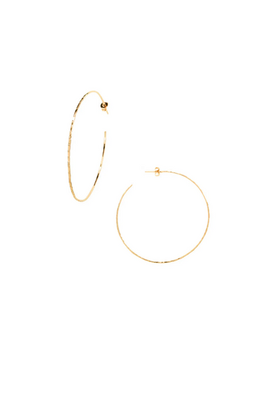 Modern Chic Hoop Earrings