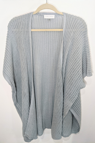 Cotton Knit Cardigan