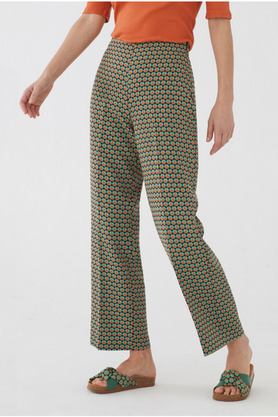 Peace Dot Culotte Pants