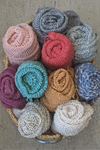Organic cotton scarfs